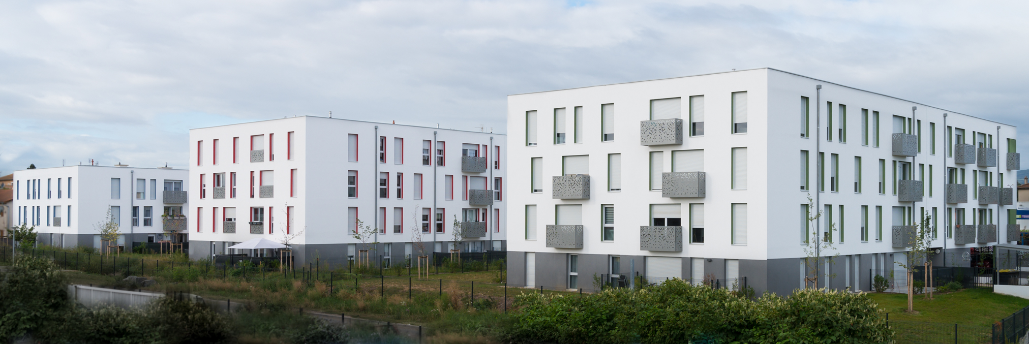 Construction de logements collectifs Les Chênes - Florence Gardenal Architect